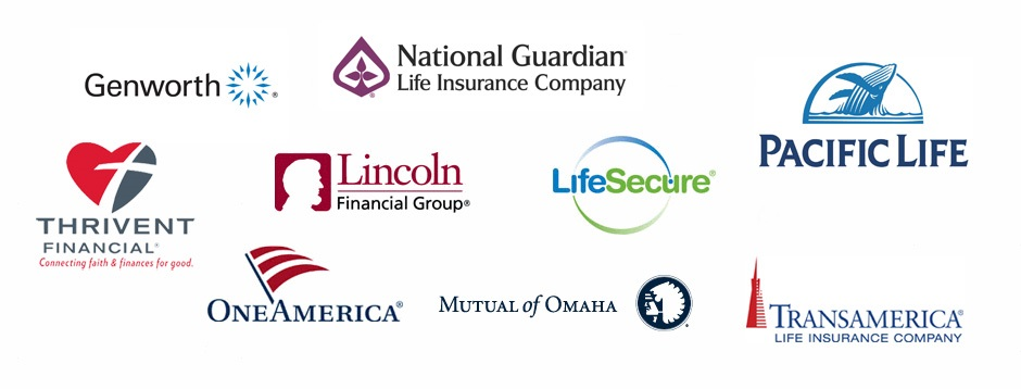 I Do Business With Genworth Financial, National Guardian Life Insurance  Company, Pacific Life, Thrivent Financial, Lincoln National Life Insurance  Company, ...